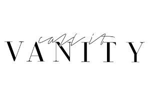 Call It Vanity
